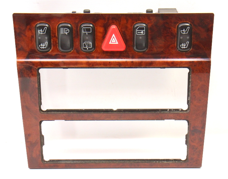 Center Dash Wood Trim and Switches 98-02 Mercedes E320 Wagon W210 A2106830508
