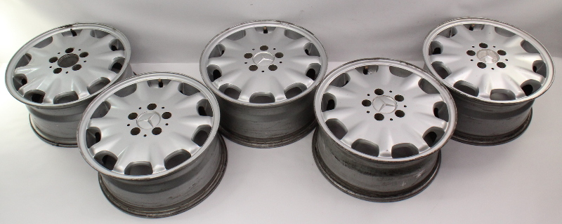 "Stock Wheel Set 16"" x 7.5"" 5x112 Mercedes W210 E320 E300 E430 E420 - 2104010602"