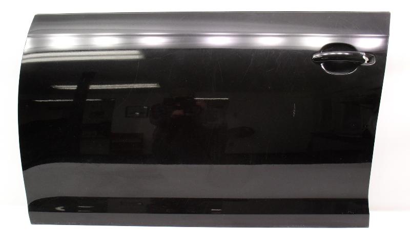 LH Driver Front Door Shell Skin 05-10 VW Jetta & Sportwagen MK5 L041 Black -