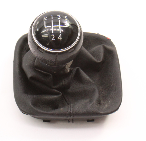 5 Speed Shifter Shift Knob Boot Trim 05-10 VW Jetta Rabbit MK5 - Genuine