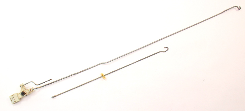 LH Rear Door Latch Lock Linkage Rods VW 85-92 Golf Jetta Mk2 Genuine 193 839 825