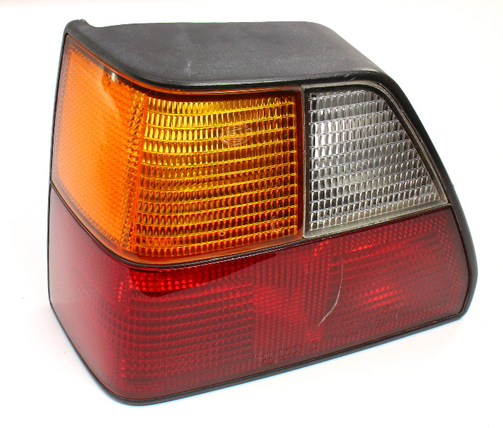 LH Tail Light Lamp 85-92 VW Golf GTI MK2 . Genuine Hella . 176 945 095 .