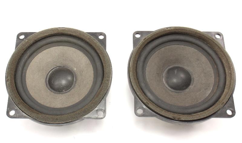 Front Door Speakers Set 85-92 VW Jetta Golf MK2 - Genuine Nokia - 165 035 411 E