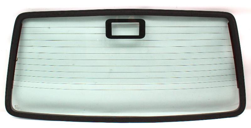 Rear Back Hatch Trunk Glass & Seal 86-92 VW Golf Mk2 ~ Genuine