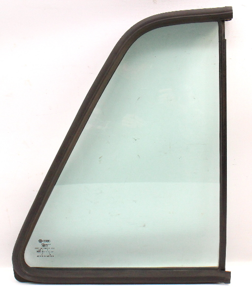RH Rear Quarter Side Window Door Exterior Glass 85-92 VW Jetta Golf MK2 4 Door -