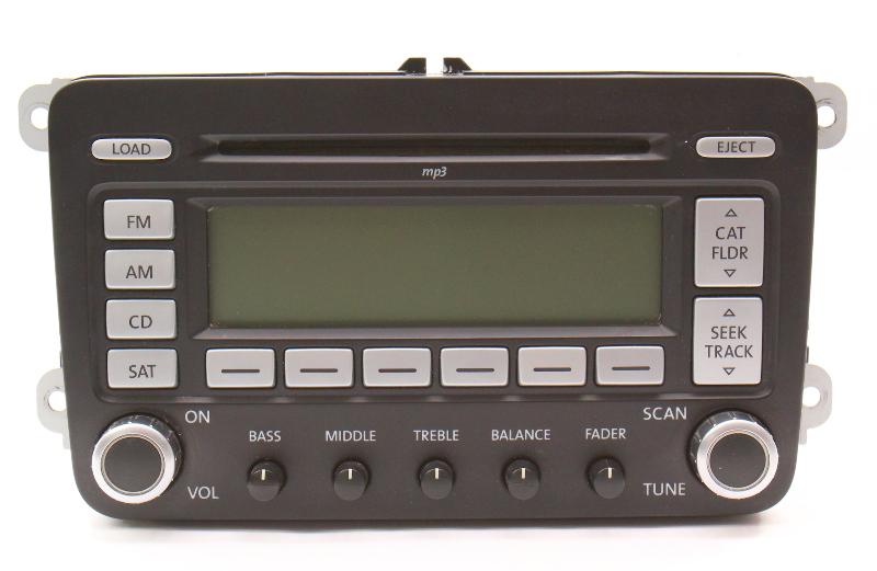 Premium 7 Radio Head Unit CD 06-10 VW Jetta Rabbit MK5 Passat B6 - 1K0 035 180 L