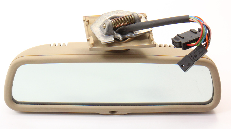 Interior Windshield Rear View Mirror 00-03 Audi A8 S8 - Papyrus - Genuine