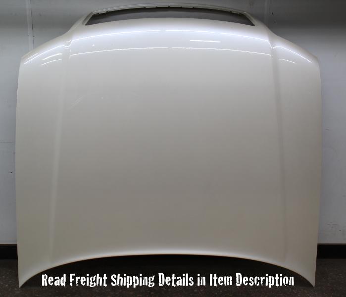 Hood Bonnet 00-03 Audi A8 D2 L0B9 White Pearl - Genuine