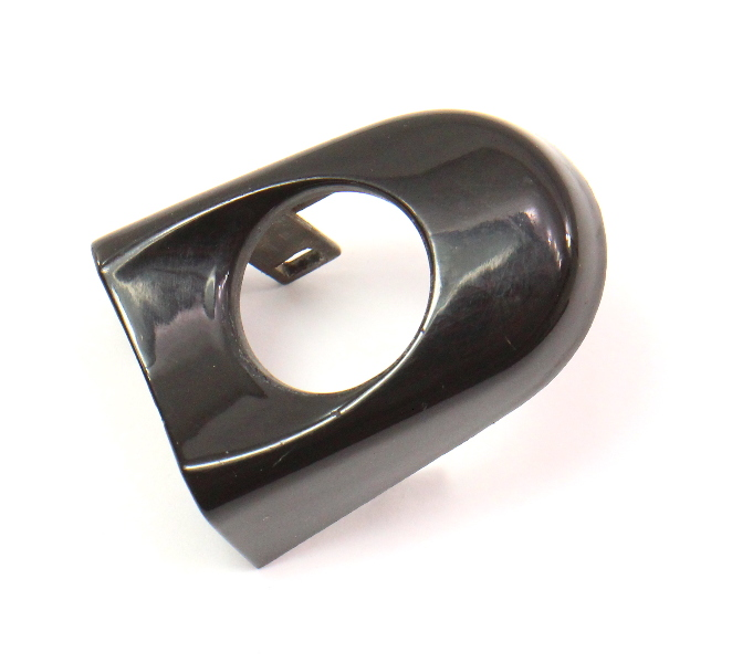 LH Exterior Door Handle Key Thumb Cap 98-10 VW Beetle L041 Black - 1C0 837 879