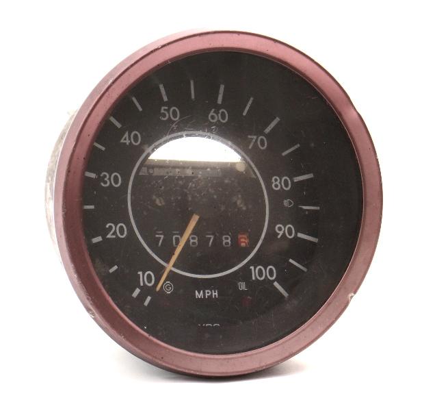 73-79 VW Super Beetle Bug Speedometer Gauge Cluster Aircooled - 133 957 023 -