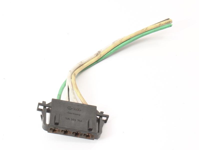 Fan Blower Resistor Plug Pigtail 99-05 VW Jett Golf GTI MK4 Beetle - 1J0 972 754