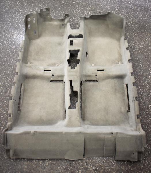 Interior Floor Carpet 98-10 VW Beetle Cream Beige - Genuine - 1C1 863 367