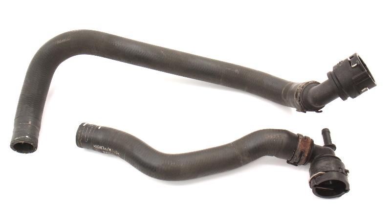 Heater Core Coolant Hoses 98-04 VW Beetle ALH TDI ~ Genuine ~ 1C0 121 036 J