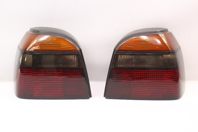 Smoked Tail Light Set 93-99 VW Golf GTI Cabrio Taillight MK3 ~ 1HM 945 095 096