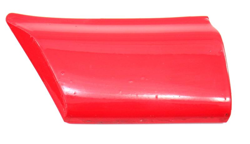 LH Small Fender Trim Molding 93-99 VW Jetta Golf GTI MK3 - LY3D Tornado Red