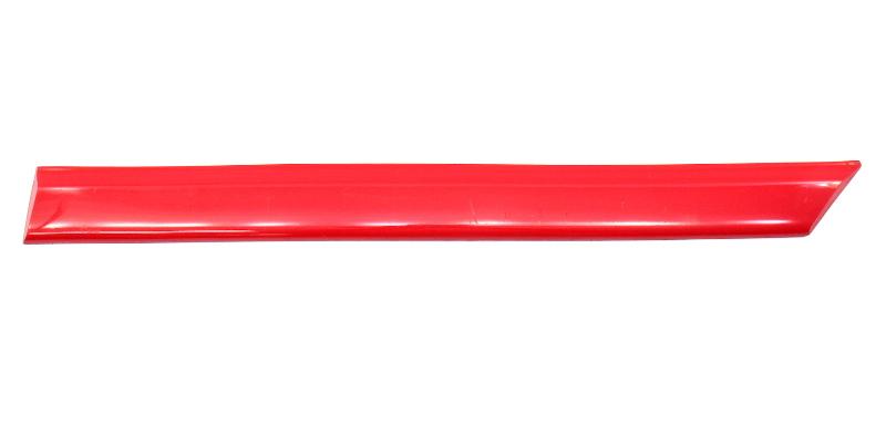 LH Rear Side Molding Trim Rub 93-99 VW Golf GTI 2 Door MK3 Red - 1HM 853 535 H