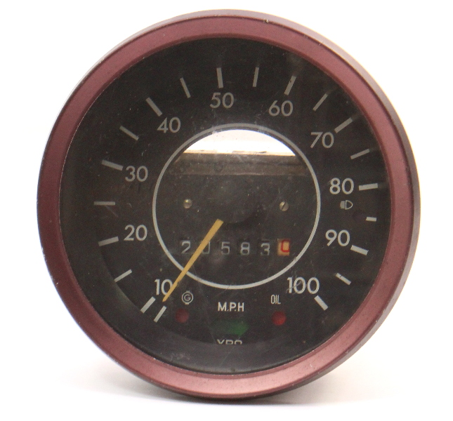 73-79 VW Super Beetle Bug Speedometer Gauge Cluster Aircooled . 133 957 023