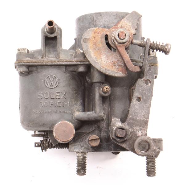 Solex Carburetor Carb 30 PICT-1 66-67 VW Beetle Bus Aircooled ~ 113 129 027 F