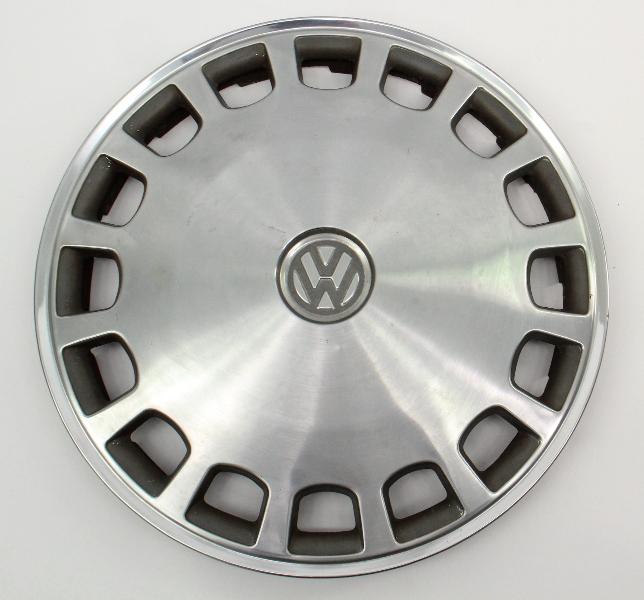 "Metal 13"" Hub Cap Wheel Cover VW Jetta Golf Rabbit Pickup Mk1 MK2 - Genuine -"
