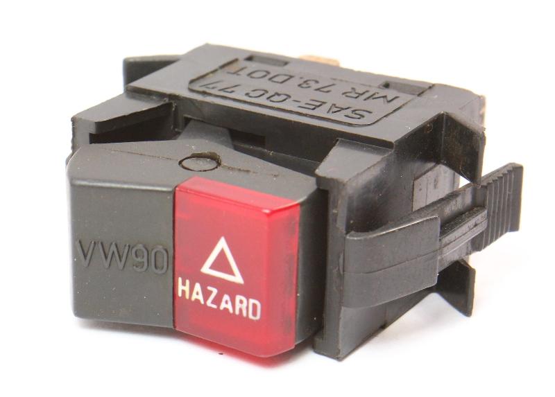 Hazard Switch Button Early Dash 75-80 VW Rabbit Jetta Scirocco Mk1 175 953 235