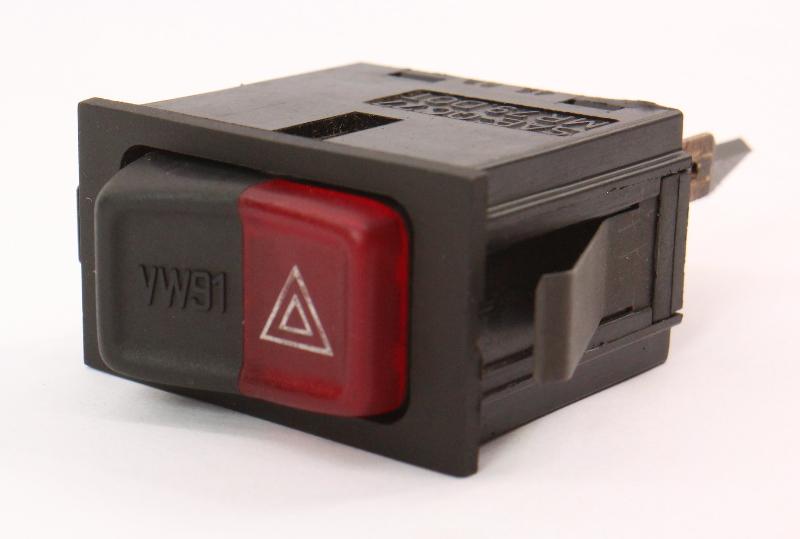 Hazard Lights Switch Button 80-84 VW Rabbit Jetta Cabriolet MK1 161 953 235 A