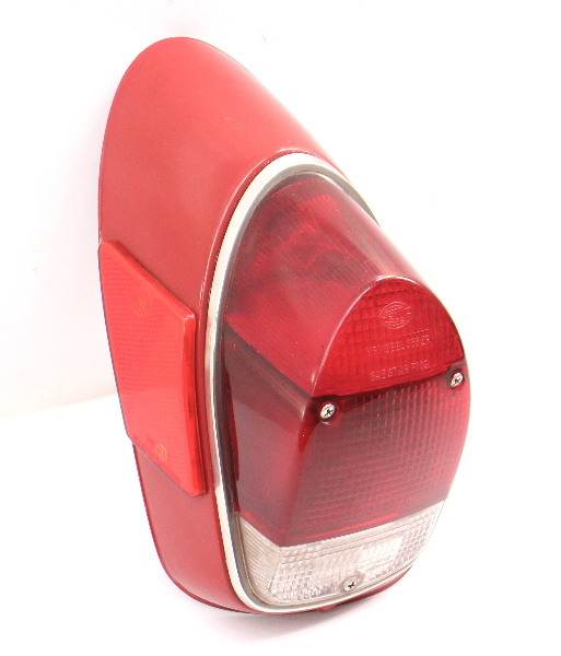 LH Tail Light Lamp Lens Housing 68-70 VW Beetle Bug Aircooled Genuine Hella Red