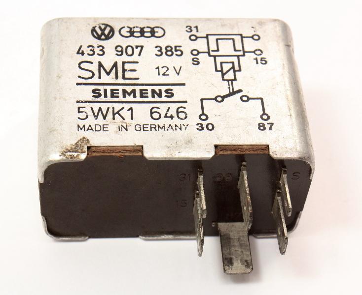 Fuel Pump Relay VW Audi 4000 - Genuine - 433 907 385
