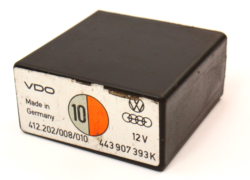 Idle Control Relay VW Audi - Genuine -  443 907 393 K