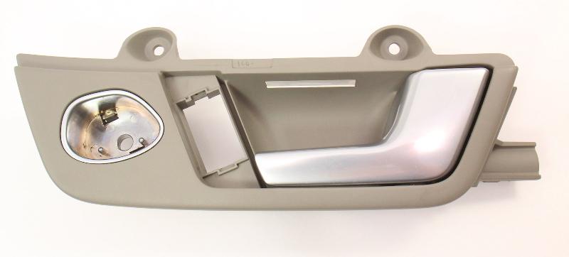 RH Front Interior Door Handle Pull Audi A4 02-08 B6 B7 Genuine - 8E1 837 020 J