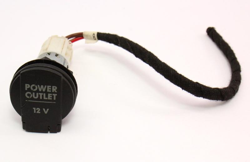 12V Trunk Lighter Power Outlet VW Passat B5 Jetta Golf GTI MK4  Beetle - Genuine