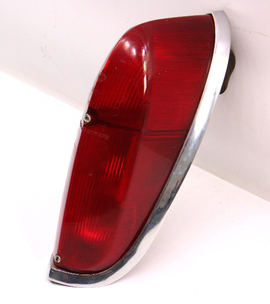 Tail Light Lamp Lens Housing 62-69 VW Type 3 Notchback - Genuine Hella German -