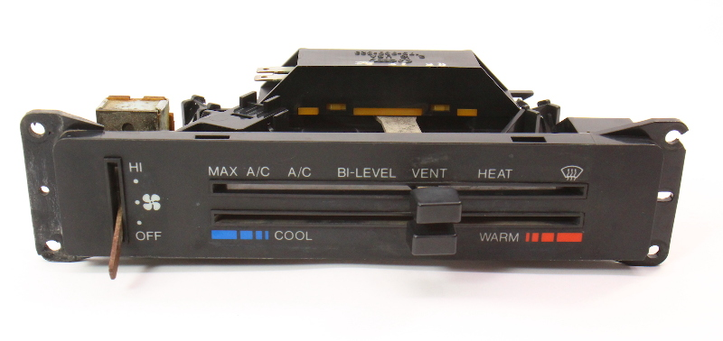 Climate Control Fan Switch Heat Heater HVAC 81-84 VW Rabbit MK1 - 175 820 311