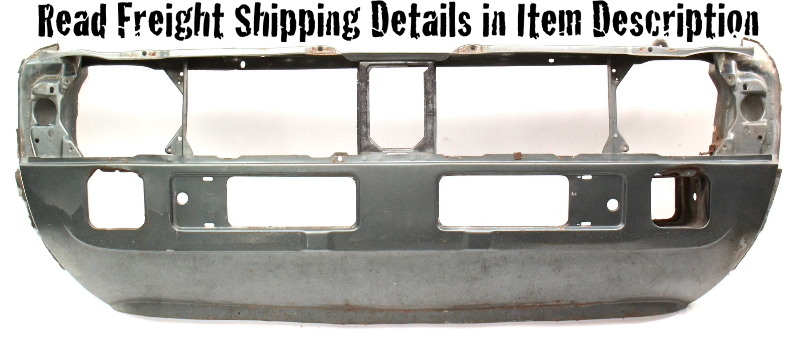 Front Clip Nose Panel Radiator Core Support 81-84 VW Rabbit & PIckup MK1 Genuine