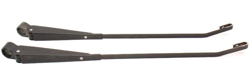 Windshield Wiper Arms Pair 75-84 VW Rabbit Pickup Jetta GTI MK1 ~ Genuine ~