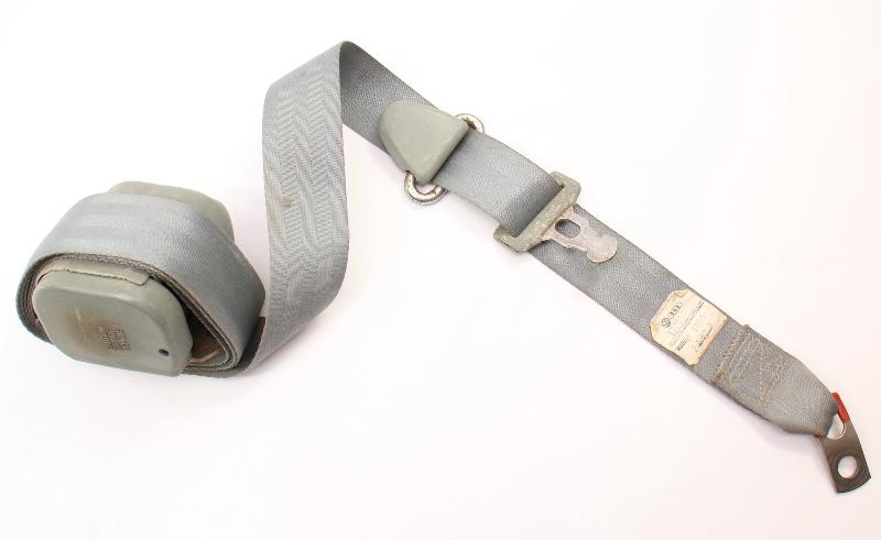 Front Seatbelt Shoulder Seat Belt 80-84 VW Rabbit GTI MK1 Grey ~ 177 857 705