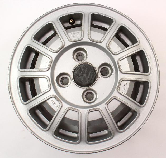 """13"""" Alloy Aluminum Wheel Rim 75-81 VW Scirocco MK1 ~ Genuine ~ 321 601 025 C"""