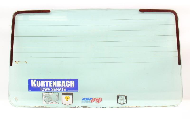 Rear Hatch Back Window Glass & Seal 75-84 VW Rabbit MK1 ~ Genuine