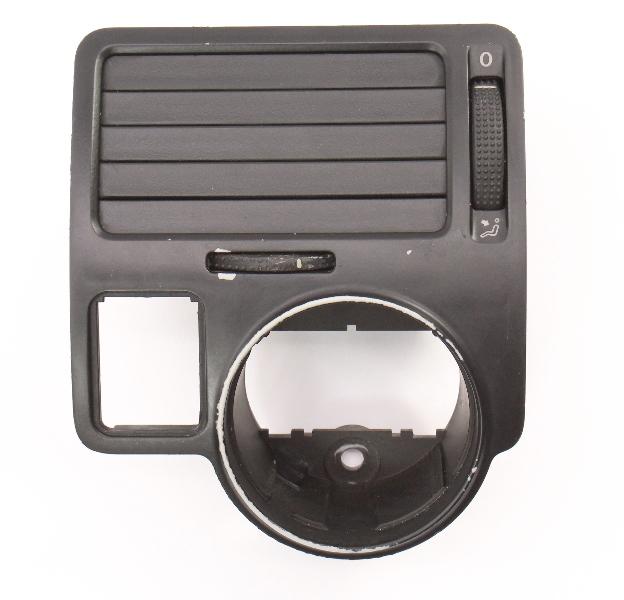 LH Driver Dash Air Vent Switch Trim VW Jetta MK4 Flush Fold . 1J1 819 703 E .