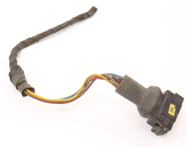4 Pin Wiring Pigtail 80-99 VW Passat B3 B4 Jetta Golf MK1 MK2 Mk3 - 171 906 236