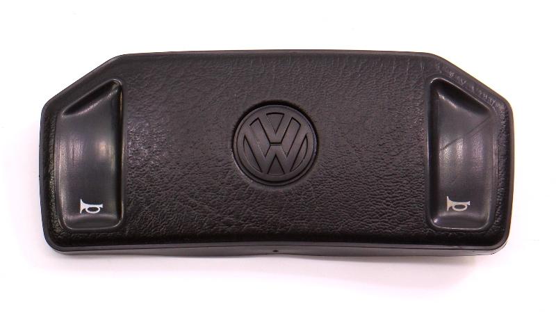 Steering Wheel Horn Pad Button VW Fox Jetta Golf MK2 - Genuine - 307 419 669