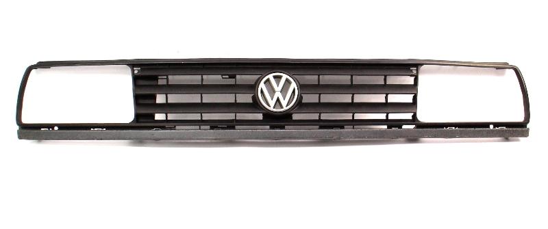 Front Upper Grill Grille 88-92 VW Jetta Golf GTI MK2 - Stock 3 Bar