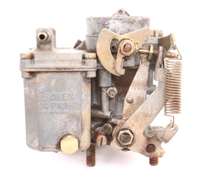 Solex Carburetor Carb 30 PICT-2 68-69 VW Beetle Bus 1300 1500 SP . 113 129 027 H