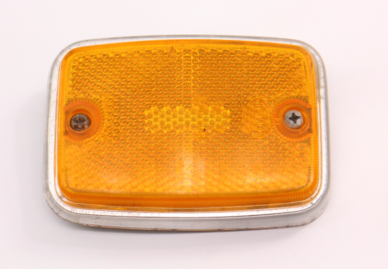 Front Side Lens Light Reflector 70-72 VW Bus Aircooled Hella ~ 211 945 119 A