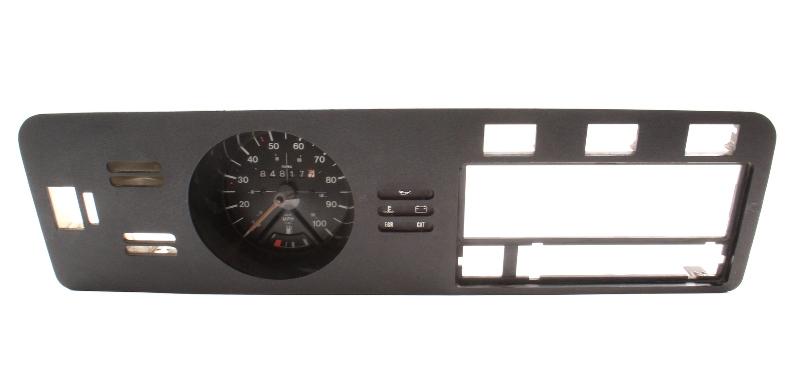 Early Dash Gauge Cluster Speedo Trim Panel 75-80 VW Rabbit MK1 - 171 919 035 D
