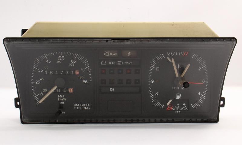 Dash Gauge Instrument Cluster Speedometer 81-84 VW Rabbit MK1 Gas Genuine VDO