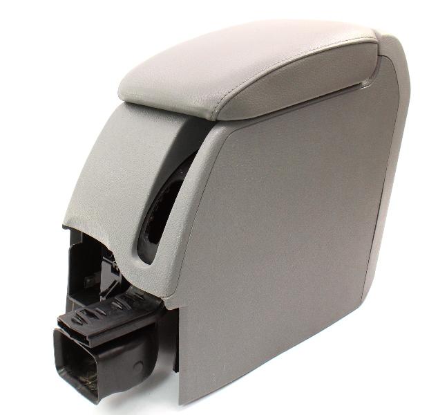 Armrest Arm Rest Center Console 05-10 VW Jetta Rabbit Golf MK5 Art Grey Genuine