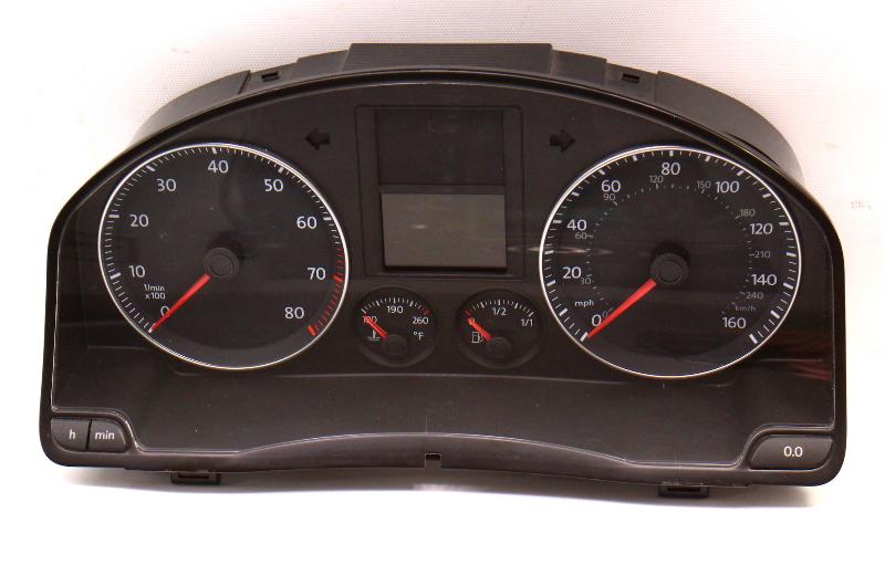 Gauge Cluster 08-09 VW Jetta MK5 2.0T Sedan Speedometer - 1K0 920 954 P