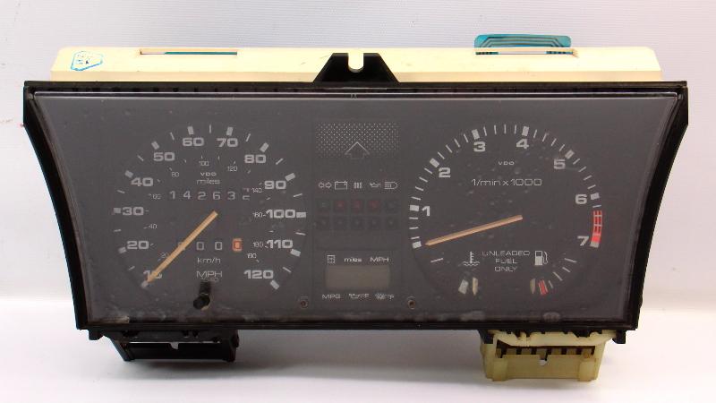 Gauge Cluster Speedometer 85-89 VW Jetta GTI MFA MK2 7k 120mph - 176 919 035 C