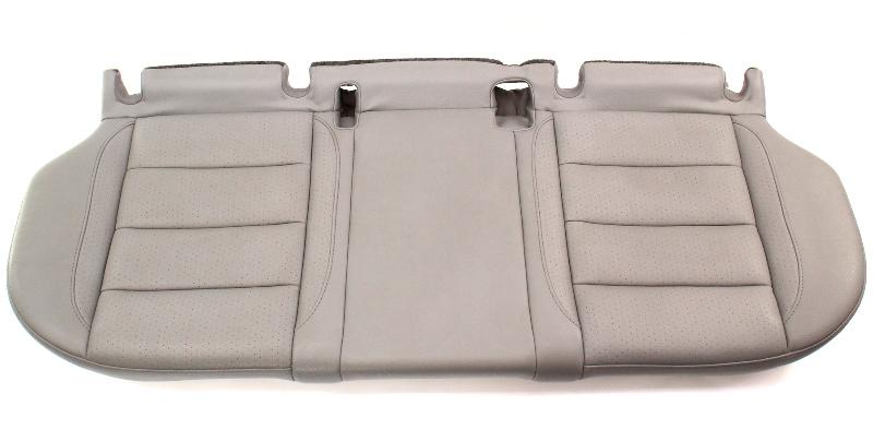 Rear Back Bench Seat Lower Cushion 05-10 VW Jetta MK5 Art Grey Pleather - Genuine