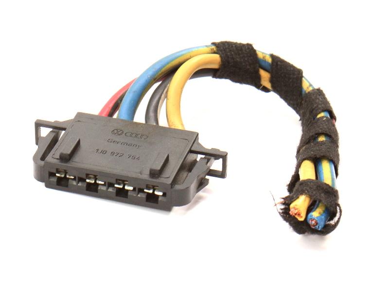 Fan Resistor Wiring Plug Pigtail 99-10 VW Jetta Golf MK4 MK5 Beetle 1J0 972 754